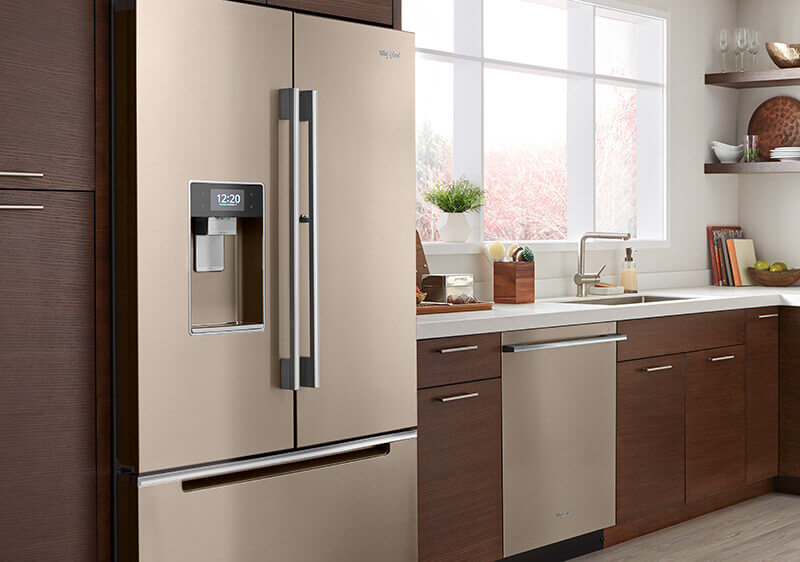 Sunset Bronze Refrigerator